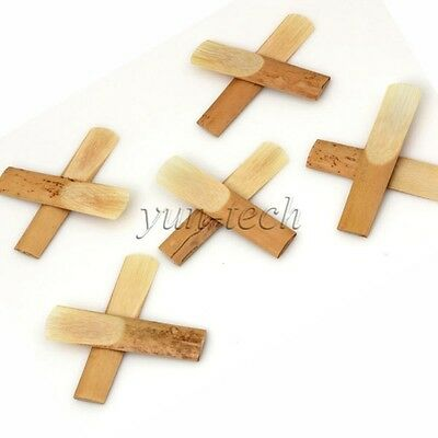 Pack of 10pcs 2.5 Strength Sax Reed for Alto Sax Saxophone