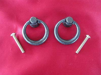 2 Antique Look Drawer Ring Pull Handles (Ph05)