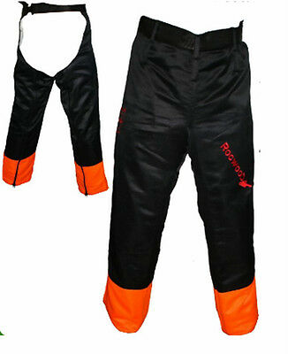 Chainsaw Safety Trousers Chaps One Size Fits All Ideal For All Chainsaw Use