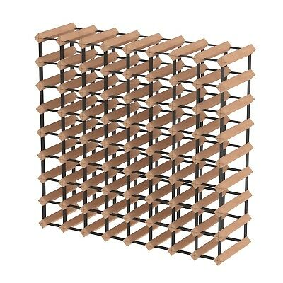 72 Bottle Timber Wine Rack - The Complete Wine Storage Solution - Over 1300 Sold