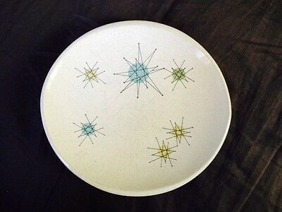 Franciscan Earthenware Atomic Starburst pattern Bread And Butter plate