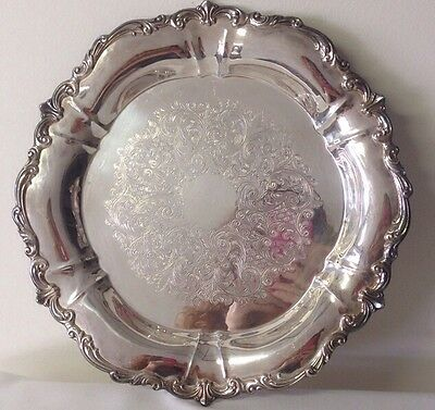 Towle Silverplate Round Platter EP 2850