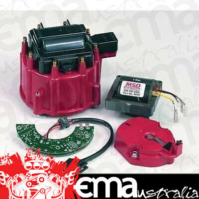 Msd Ultimate Hei Gm Distributor Upgrade Kit Coil,cap,rotor & Module Msd8501