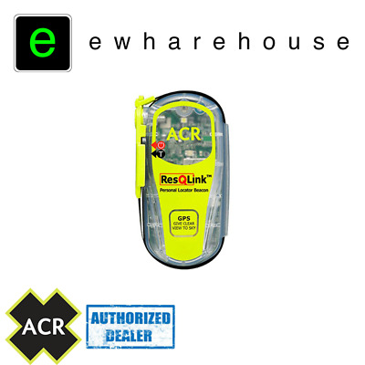ACR ResQLink GPS PLB PACKAGE WITH FREE POUCH, FIREFLY PRO and PARACORD!
