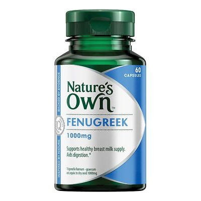 Best Price! Nature'S Own Fenugreek 1000Mg 60 Tablets Discount Chemist