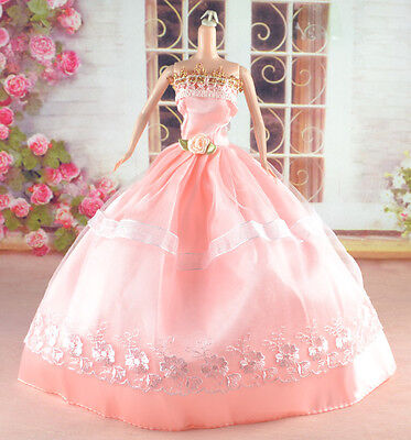 New Handmade Party Clothes Fashion Dress for Noble Doll  #y23