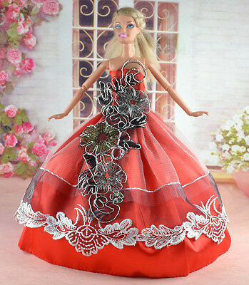 New Handmade Party Clothes Fashion Dress for Noble Doll  #y43
