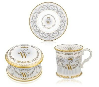 William and Kate - The Royal Collection Royal Wedding 3 Piece Commemorative Set