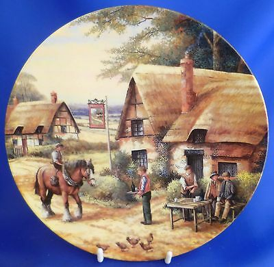 Royal Doulton Country Inns Collector Plate - The Traveller's Rest