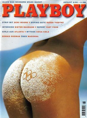 PLAYBOY 1996/08 [August 8/96] * Demi Moore * Madonna * Nadine Griesbach * TOP