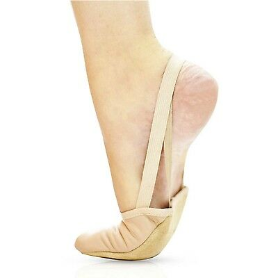 "Sansha ""Mace"" Flesh/Lightpink Full Toe cover Foot Thong with elastic heel bands"