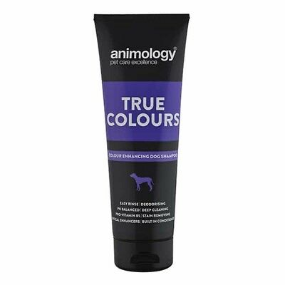 ANIMOLOGY BACK TO BLACK SHAMPOO FOR YOUR PUPPY WHATEVER BREED 250 ml