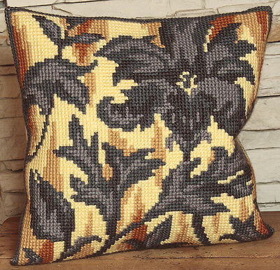 Collection D'Art Cross Stitch Cushion Kit: Silhouette on right CD5019