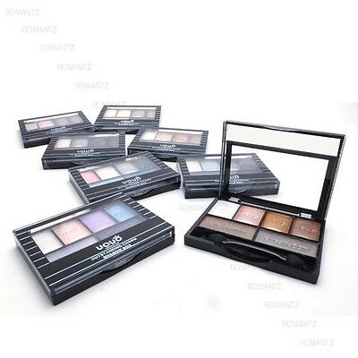 UOUO 6 Color Eyeshadow Makeup Palette Colorful Smoky JC8204