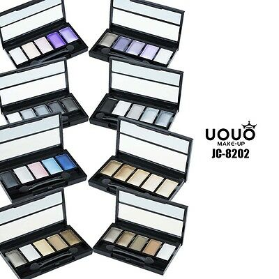 UOUO 5 Color Eyeshadow Palette Colorful Glitter Make up JC8202