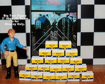 5 Cases Of Corona Extra Beer  Ready To Be Displayed For 1:24 G Scale Diorama
