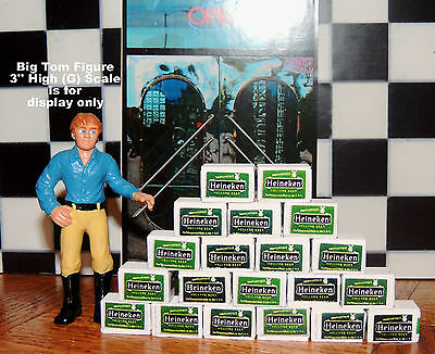 5(Five) Cases Of Heineken Beer  Ready To Be Displayed For 1:24 G Scale Diorama