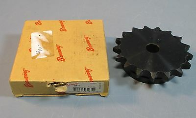 "Browning 60B17 Single Row Sprocket 3/4"" Stocked Bore for #60 Chain NIB"