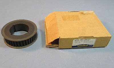 Goodyear GTR-38G-8M-21 Taper Lock 1610 Pulley w/ 38 Groove, 21mm Wide New