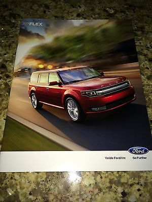 2013 Ford Flex 32-page Original Sales Brochure