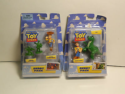 Toy Story Sheriff Woddyand Rex and Green Army Men Buddy Pack   ***New In Pack***