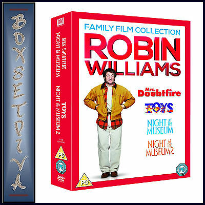Robin Williams Collection -  Family Film Collection  **brand New Dvd Boxset **