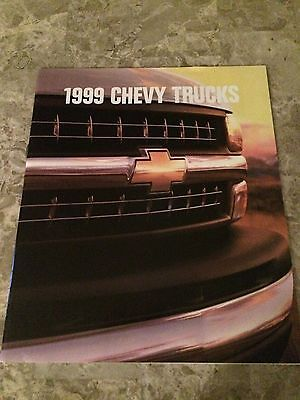 "1998 Chevy Trucks ""Full Line"" 28-page Original Sales Brochure"