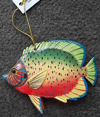 Tropical Fish Tiki Bar & Christmas Ornament Beach Nautical Decor TF006