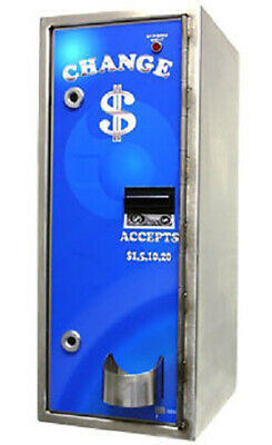 American Changer - AC8002 Platinum Stainless Steel High Security Bill Changer