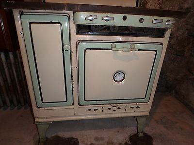 SILVER QUEEN GAS OVEN EARLY 1900'S