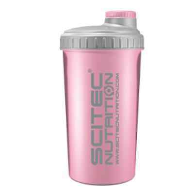 Scitec Nutrition Shaker Rosa Pink Girl Power 700 Ml Crossfit Cross Fit Proteine