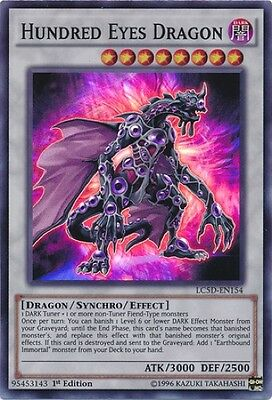 Hundred Eyes Dragon (LC5D-EN154) - Super Rare - Near Mint - 1st Edition