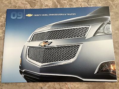 "2009 CHEVY CARS/TRUCK/SUV's ""Full Line"" 16-page Original Sales Brochure"