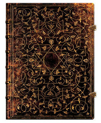 """Paperblanks Journal  """"Grolier"""" Lined Ultra 7x9"""" Book Writing New"""