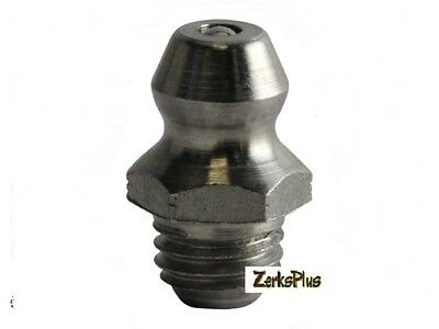 1/4-28 Taper Straight Grease Zerk Nipple Fitting 25 Pcs