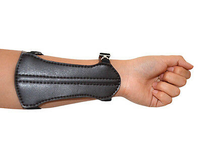 Arm Guard Arm Protector For Hunting Archery Cow Leather Black Cheap Price