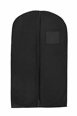 """NEW New Breathable 40"""" Suit/dress Black Garment Bag by Bags for Less"""