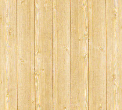 Plank Wood Effect Self Adhesive Wallpaper Roll Rustic Home Depot Wall Covering