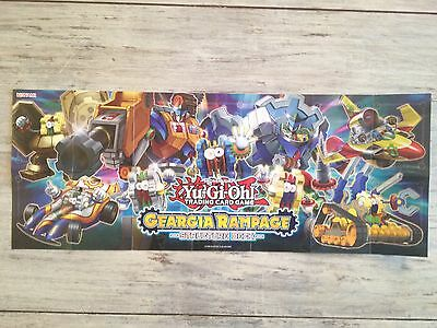 Paper Playmat - Geargia Rampage Structure Deck - Yu-Gi-Oh! - Yugioh