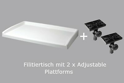 Railblaza Fillet Table II, Filetiertisch inkl 2x Adjustable Platform 02-4024-11