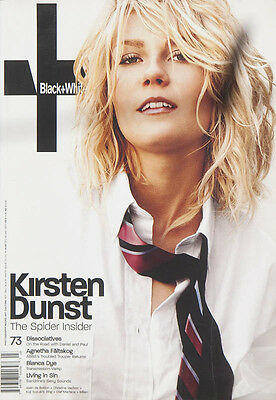 Not Only Black + White, Issue 73, July 2004 featuring Kirsten Dunst