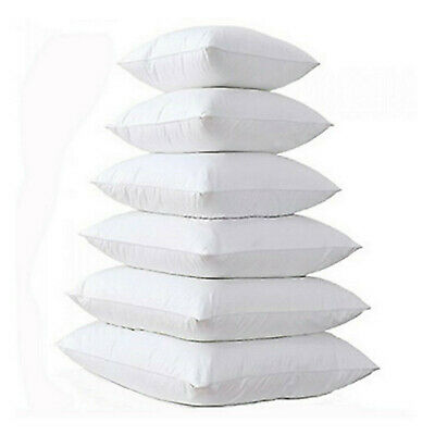 Cushion Filler Inner Inserts Cushion Pads Scatters Hollowfibre Pack of 1 2 4 6 8
