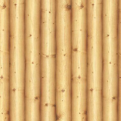 Contact Paper Wood Log Effect Self Adhesive WallpaperVinyl Roll Cabin Home Depot