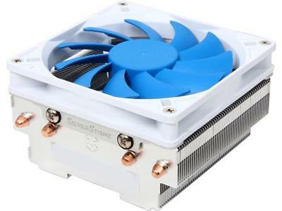 SilverStone Argon Series AR06 Rifle Bearing CPU Cooler with 92mm Fan for Socket