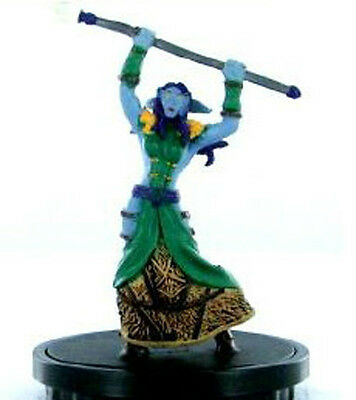 Wow Warcraft Miniatures Spoils Mini : Yanna Dai'shalan X 2