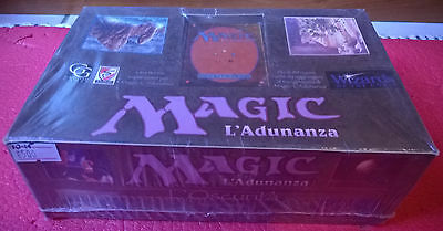 "MTG: BOOSTER BOX Italian OSCURITA' ""The Dark"" FACTORY Sealed! NEW/MINT Unopened"