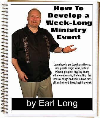 Develop a Week-Long Ministry Event for Kid's Crusades, Camps, VBS (Gospel Magic)