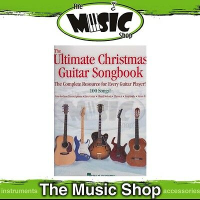 New The Ultimate Christmas Guitar Songbook with Notes & Tab - Music Book