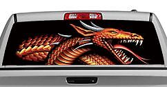 20x65in DC45804 Truck Rear Window Decal Graphic Tattoos /& Themes // Skulls