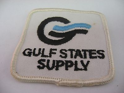 Vintage GULF STATES SUPPLY Oil Gas Industry Patch